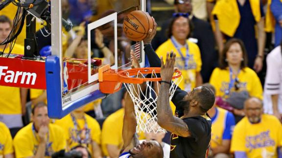 Rewind: LeBron's crucial block helped secure Cavs' first title