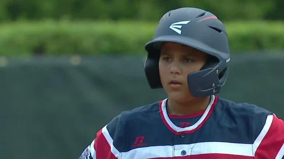 Mendez's RBI double pads New York's lead at LLWS