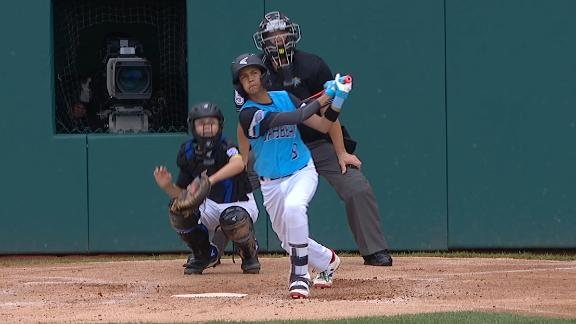 Rodriguez extends Puerto Rico's lead with homer