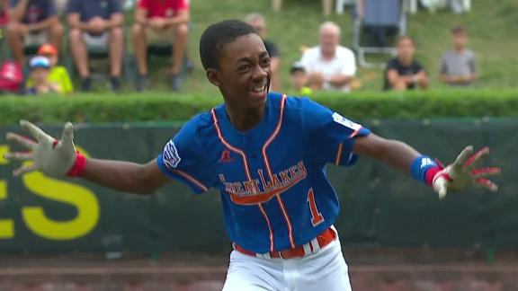 Michigan walks off to eliminate Iowa at LLWS