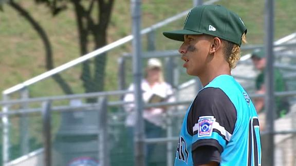 Puerto Rico pitcher strikes out 14 at LLWS