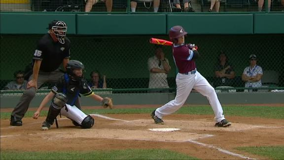 Rhode Island opens big lead on bases-clearing double
