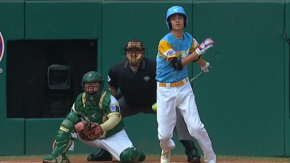 Hawai'i takes early lead at LLWS with solo HR