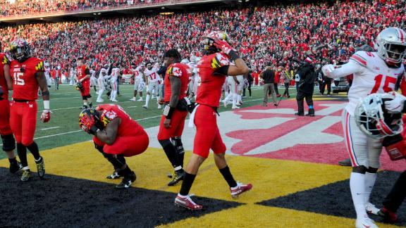 Ohio State survives Maryland in epic OT win - ESPN Video - ESPN