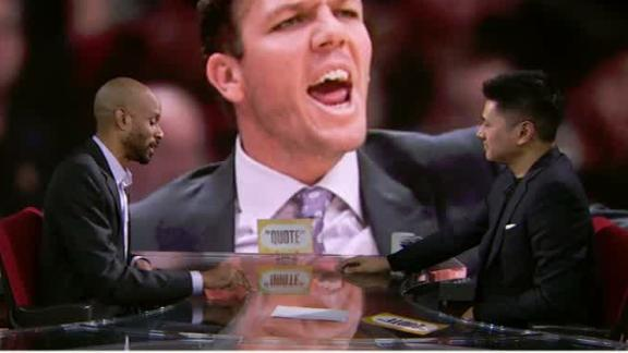 Is LeBron ignoring Luke Walton a big deal?
