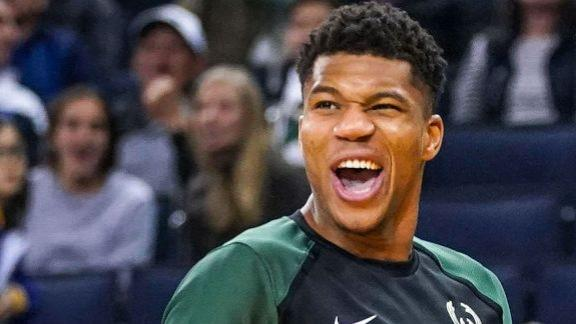 Giannis putting up an MVP caliber season