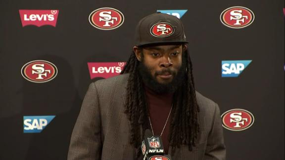 Sherman: Young 49ers players 'stepped up to the moment' Richard Sherman says it means a lot defeating his former team, but is particularly proud of Nick Mullens, who stepped up with the game on the line.