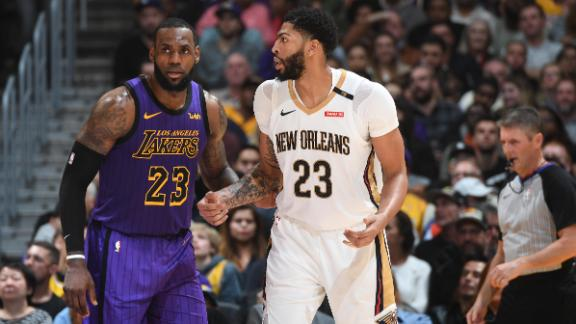 LeBron's triple-double tops Davis' 30 in L.A.