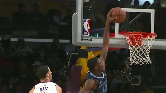 b0b2593cd Grizzlies end 5-game skid by beating Lakers 107-99