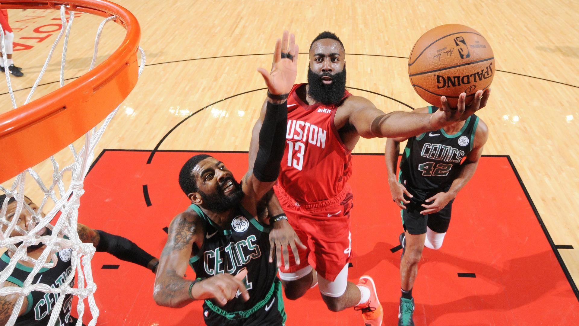 baf7b5b63408 Harden s 45 lead Rockets in 127-113 win over Celtics