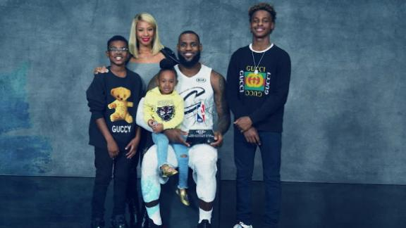 Family plays a big role in LeBron's decision making