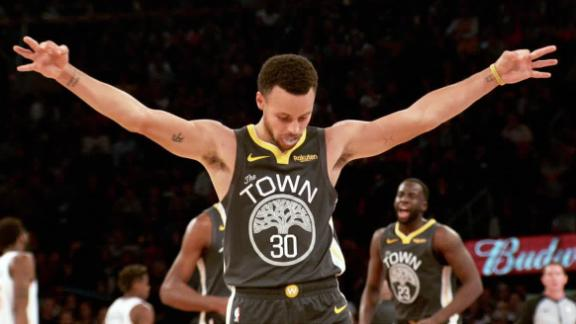 Curry's 3-point prowess is legendary