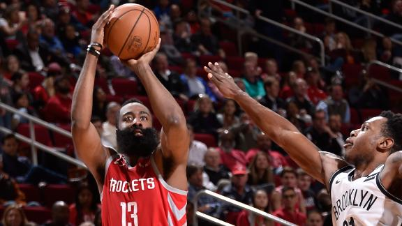 best website 94e22 75c6a James Harden continues tear with 58, but Rockets fall in OT ...