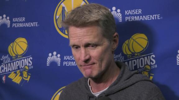 Kerr 'doesn't think' Warriors will have 4 All-Stars
