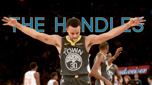The best of Steph Curry's handles