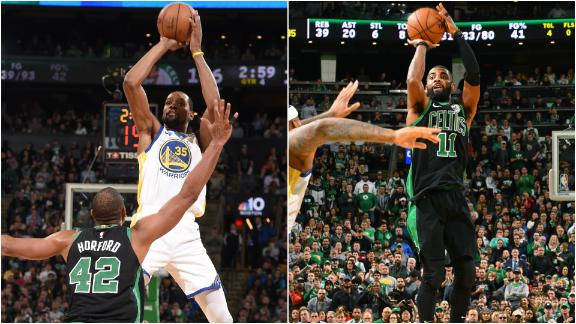 Warriors beat Celtics after intense fourth quarter