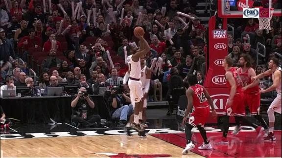 Burks hits floater to take the lead
