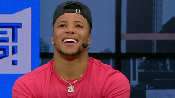 Saquon: If you ask my peers, I'm Rookie of the Year