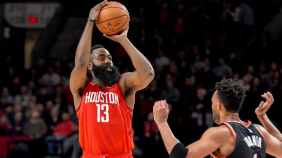 Harden's dance moves walk the line between travel and art form