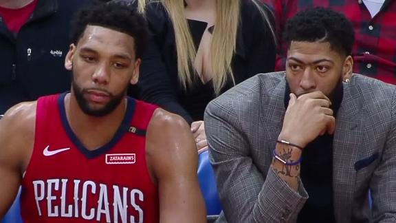 Pelicans not focused on Anthony Davis media frenzy