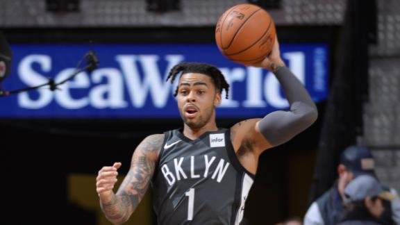 Russell's 25 points not enough to overcome Spurs