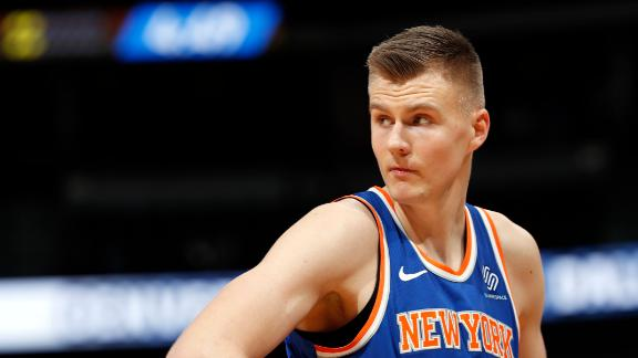 Knicks president: Porzingis not completely on board with future
