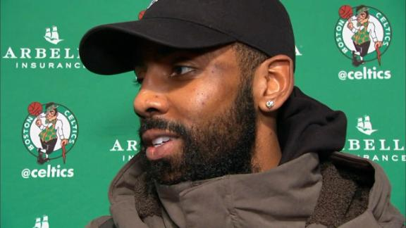 Kyrie: The media is reaching to get reactions out of him