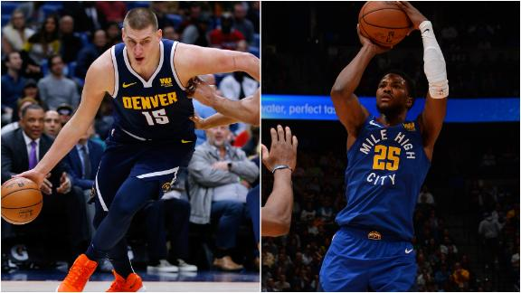 Jokic, Beasley lead Nuggets to win vs. Rockets