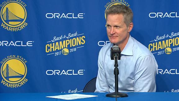 Kerr says Lakers' fans 'should want Klay'