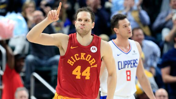 Bogdanovic fuels Pacers' lopsided win