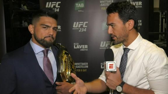 Gastelum is devastated by Whittaker dropping out of UFC 234