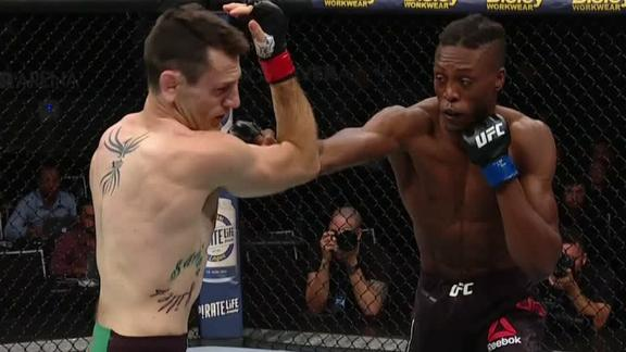 Turner knocks out Potter in 1st round