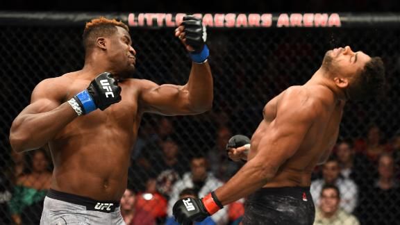 Francis Ngannou's greatest hits