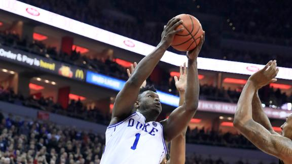 Zion powers Duke comeback with 27 points