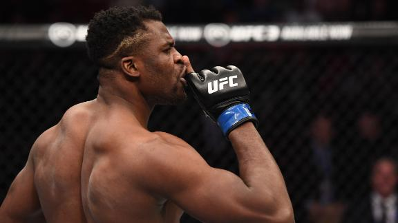 Ngannou's record speaks for itself
