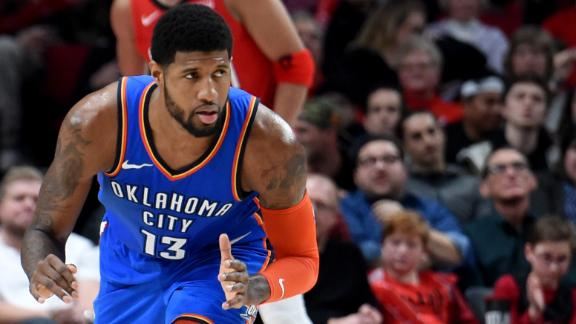 Paul George's elevation to MVP contender