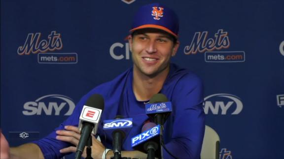 Jacob deGrom not ruling out innings limit