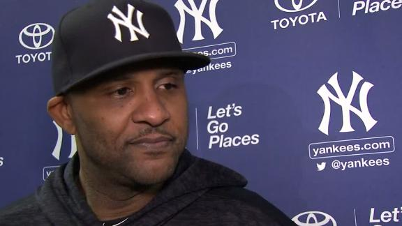 Sabathia on retiring: 'It's time to be around my family'