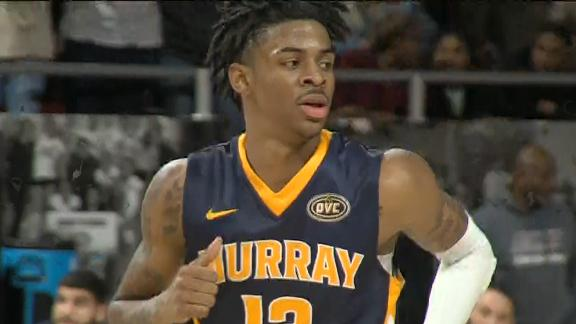 Morant makes history as OVC assist leader in blowout win