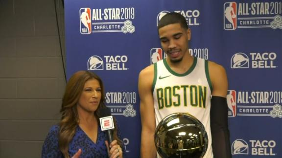 Tatum: The Celtics will win the finals this year