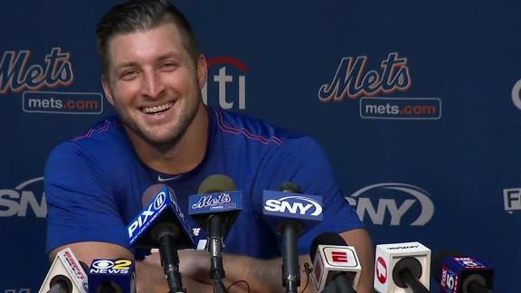 Tebow: This is the biggest spring training for me