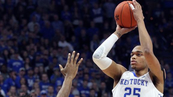 Washington, Johnson lead Kentucky to 17-point win over Tennessee