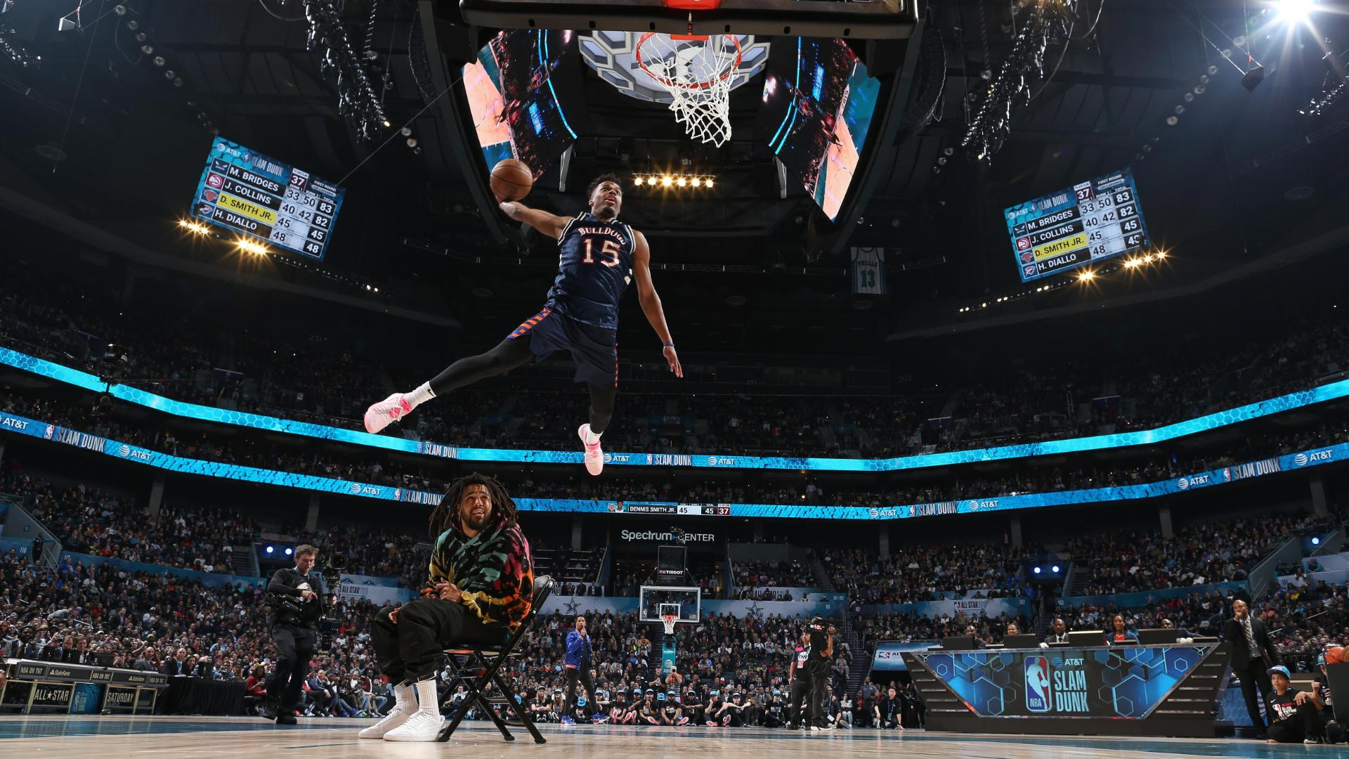 DSJ, J. Cole 'Work Out' ridiculously high-flying dunk