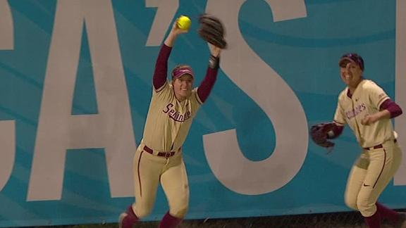 FSU's Morgan robs potential game-tying HR