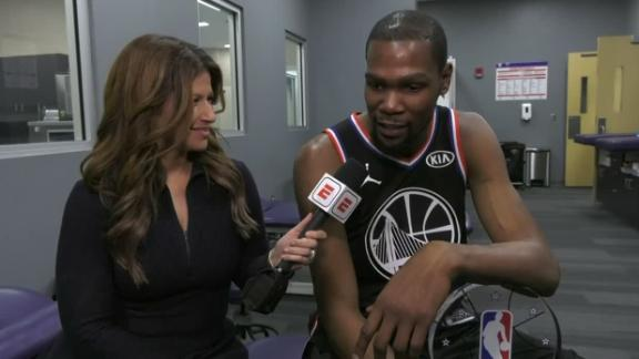 Durant on Team LeBron: 'We just didn't want to lose'
