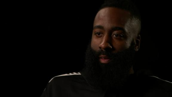 Harden acknowledges it's hard not to hear critics