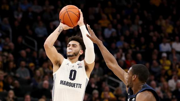 Howard's 28 lead Marquette past Butler