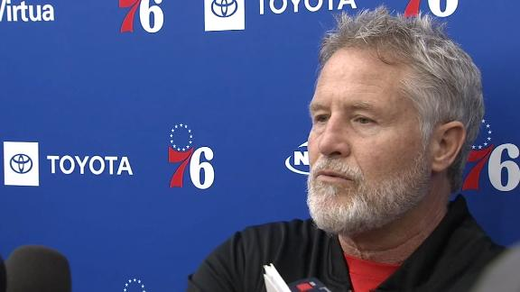 Brown does not think All-Star Game resulted in Embiid's injury