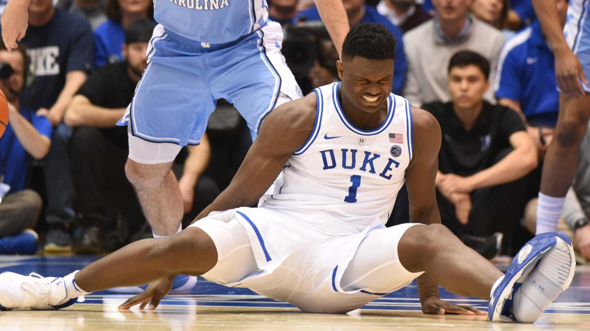 Johnson, Maye take control after Zion's injury