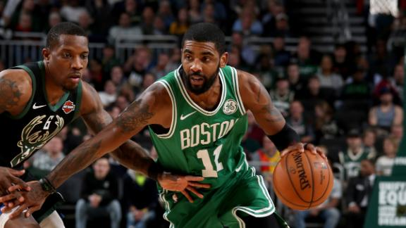 Kyrie, Celtics come up short vs. Bucks